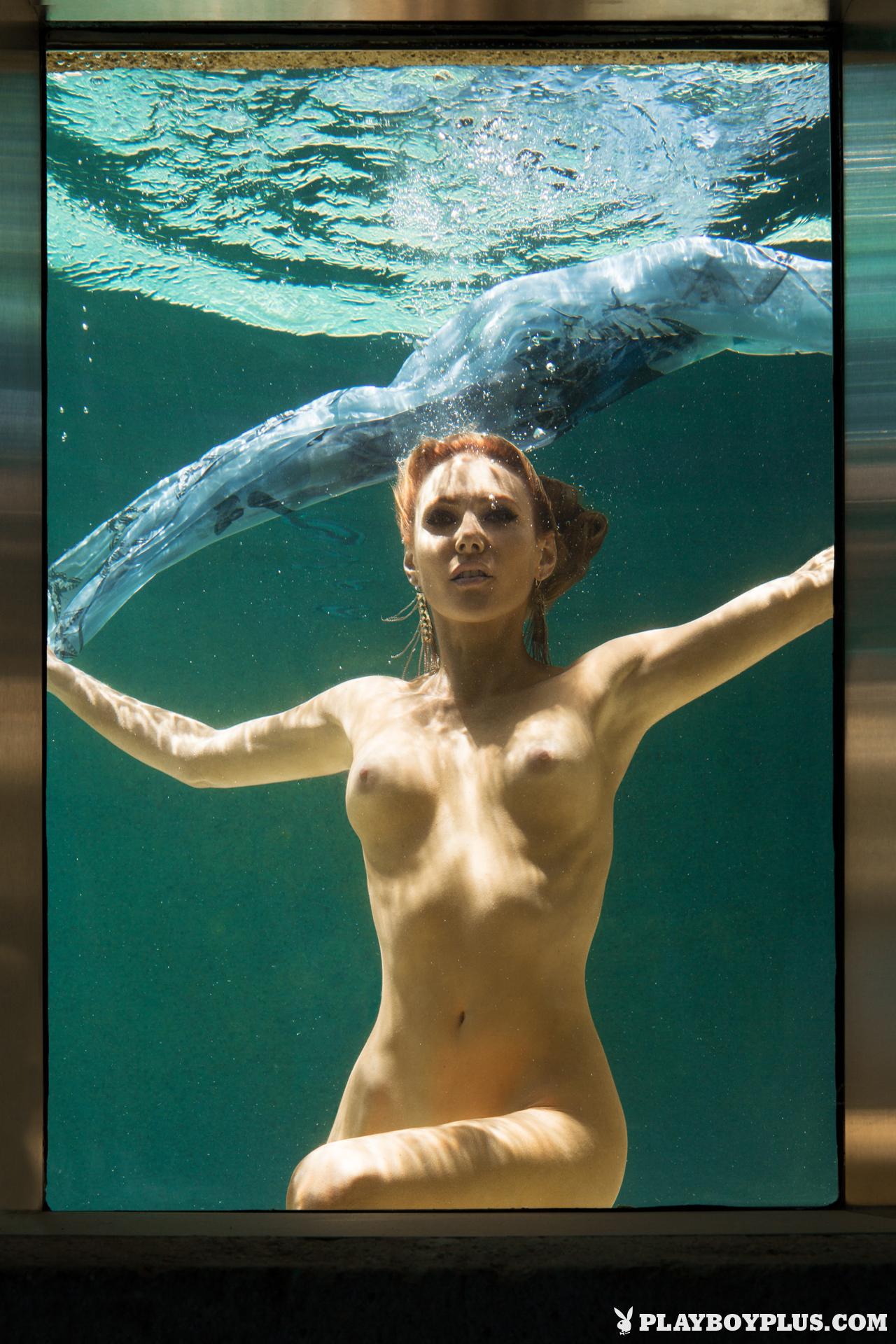 gia-marie-pool-wet-naked-sunglasses-playboy-24