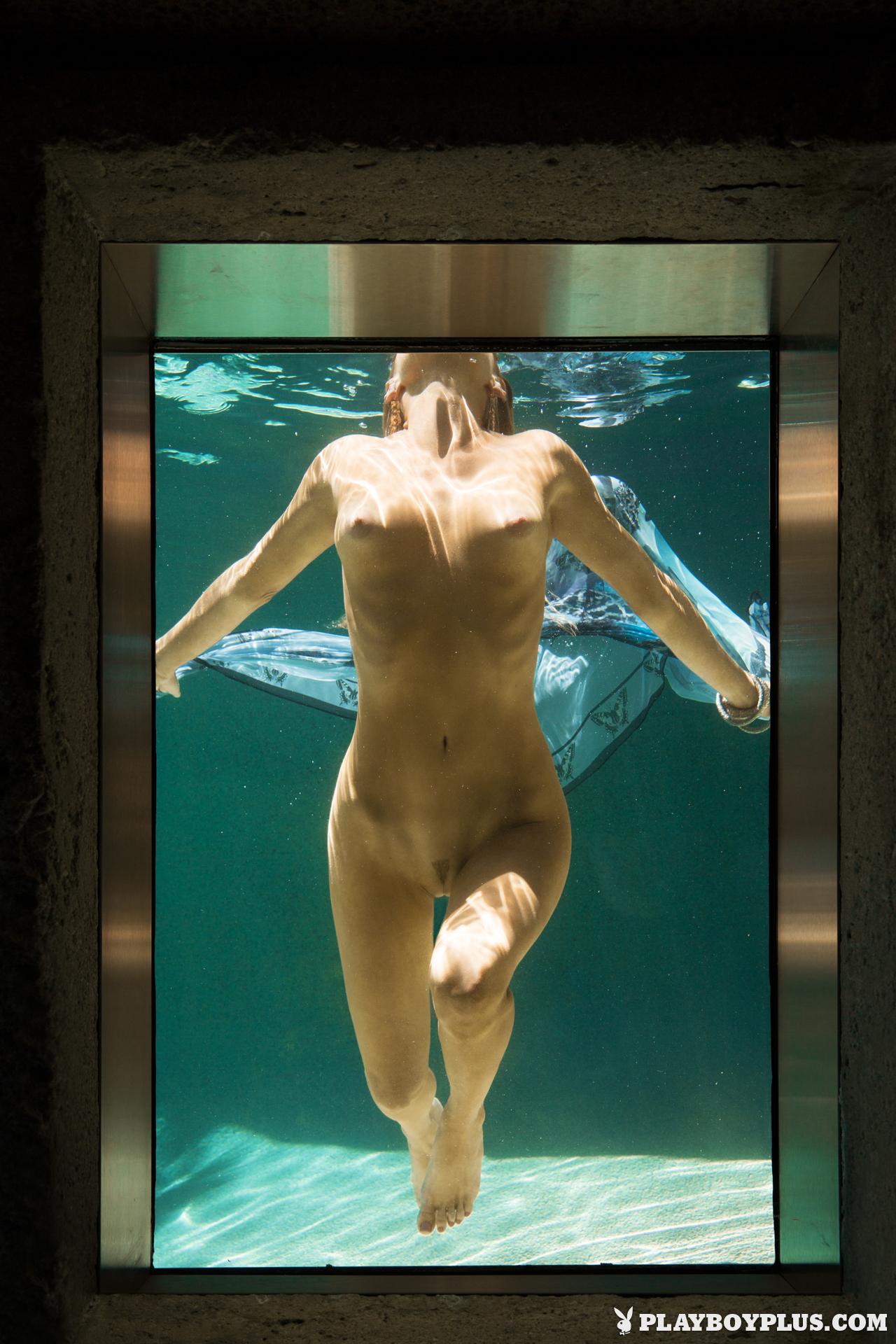 gia-marie-pool-wet-naked-sunglasses-playboy-25