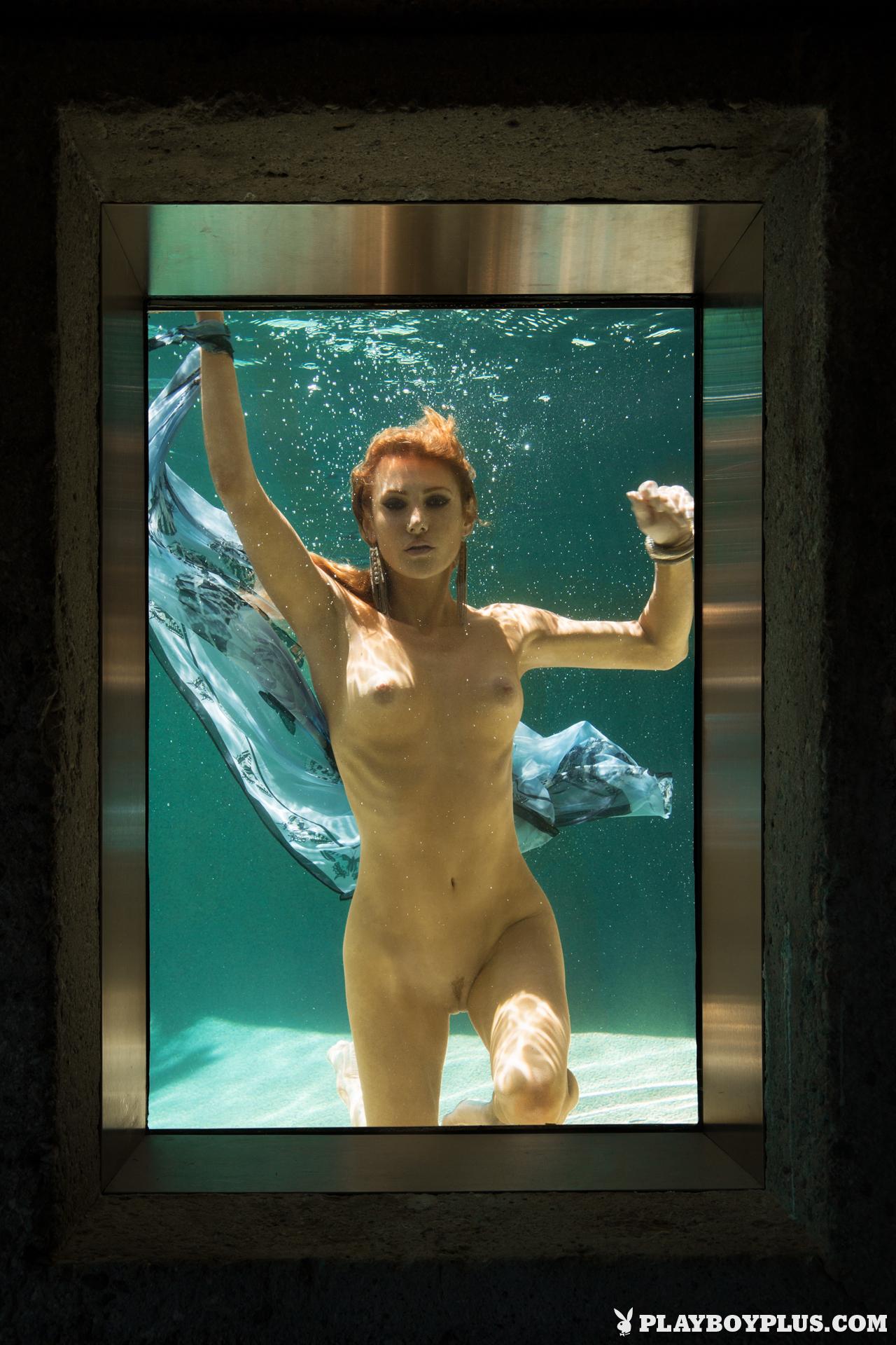 gia-marie-pool-wet-naked-sunglasses-playboy-28