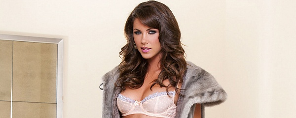 Gia Ramey-Gay in stylish fur coat