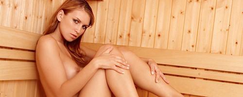 Gina nude in sauna