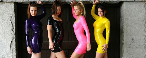 Girls in latex