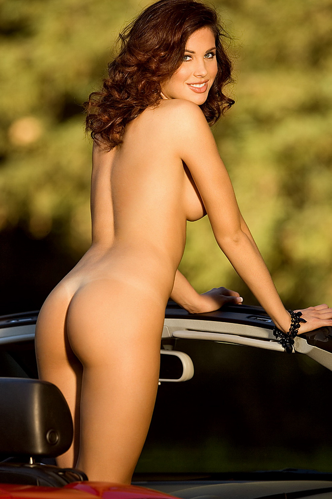 German milf ines quermann shows her nude breasts for playboy