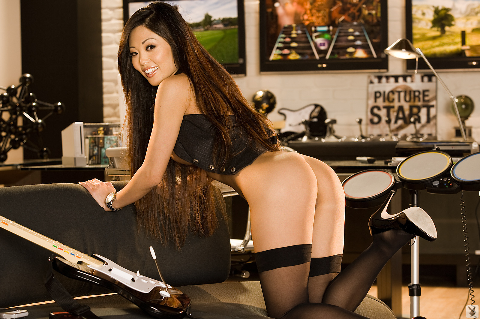 grace-kim-guitar-stockings-naked-asian-playboy-21