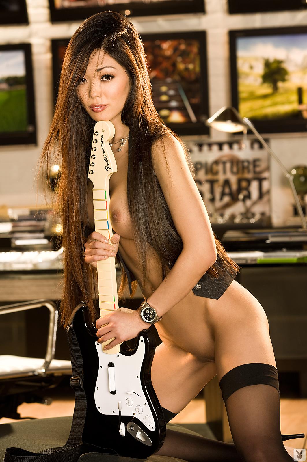 grace-kim-guitar-stockings-naked-asian-playboy-25