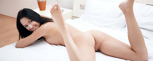 Gwen in bedroom