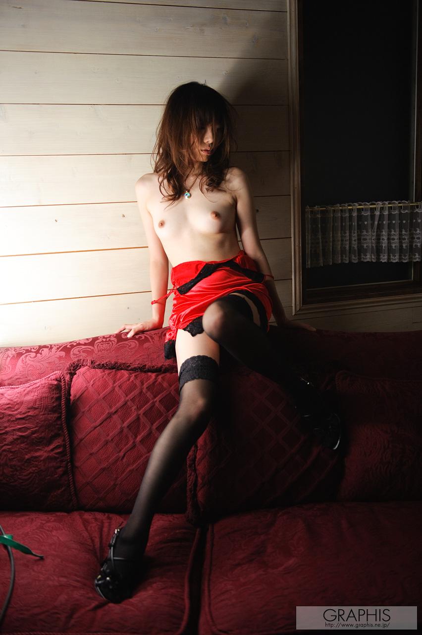 haruka-mana-red-nighty-stockings-asian-naked-graphis-06