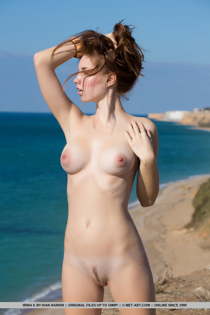 Irina K Beach Naked Seaside Metart 14 Redbust-6006