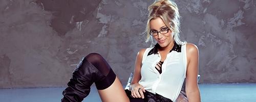 Jenni Lynn wearing glasses