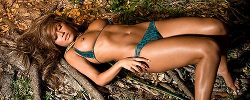 Jessica Burciaga in the jungle