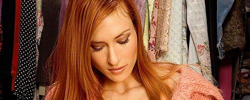 Jessica Lorin in wardrobe