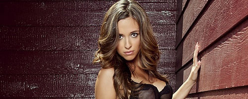 Jessika Alaura in black bra
