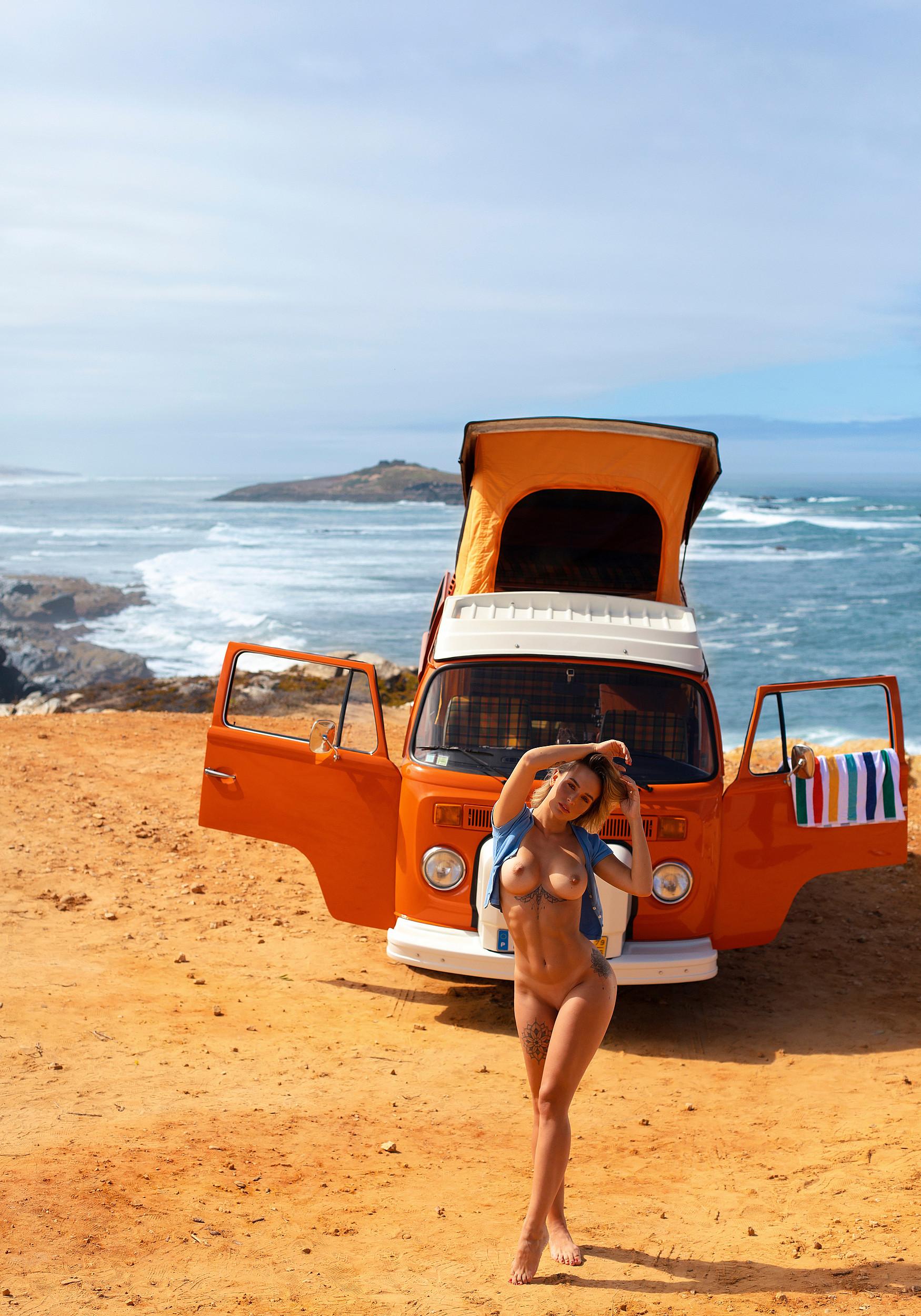 julia-rommelt-naked-tattoos-camper-seaside-december-2020-germany-playboy-24