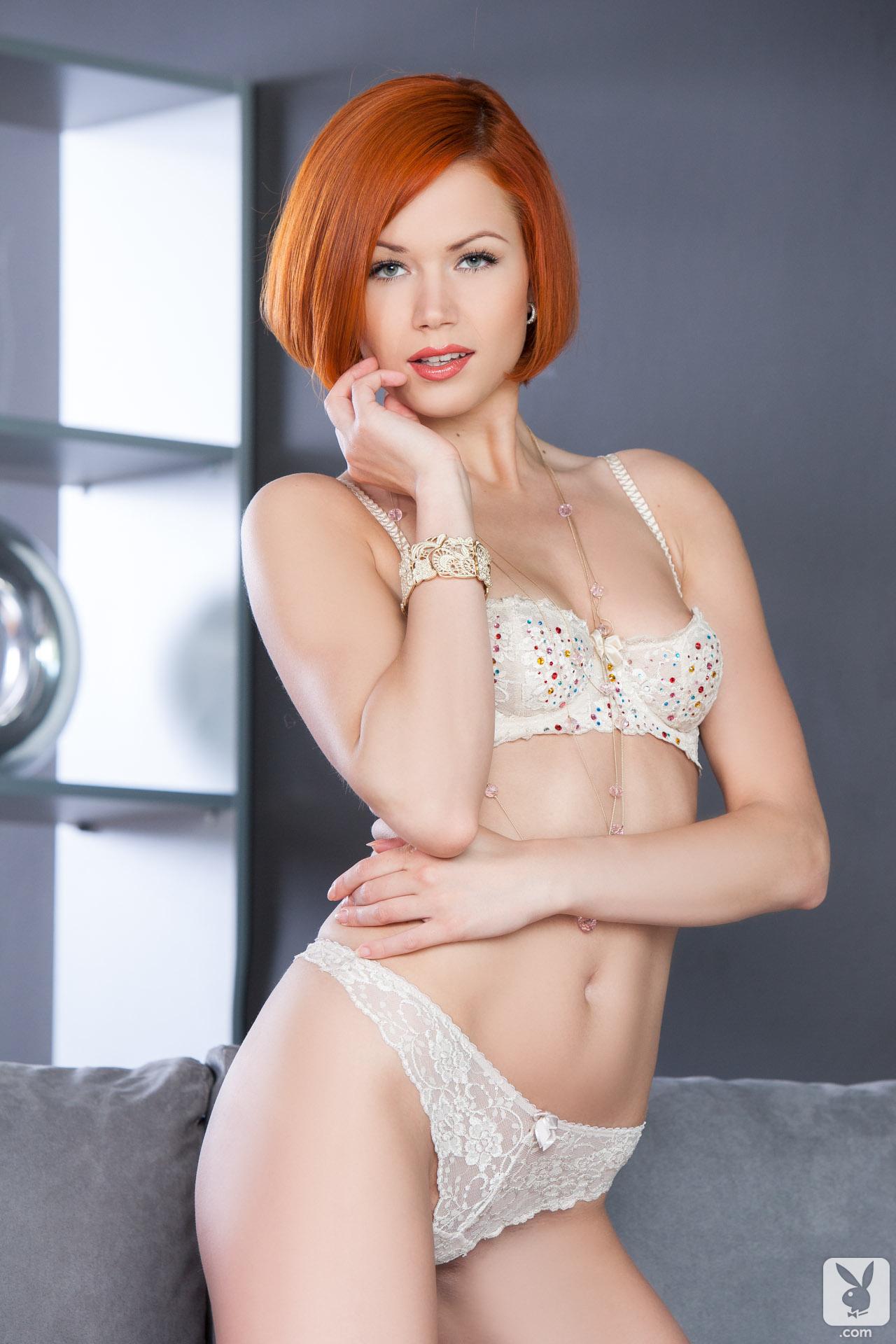 kamila-hermanova-redhead-naked-white-lingerie-playboy-07