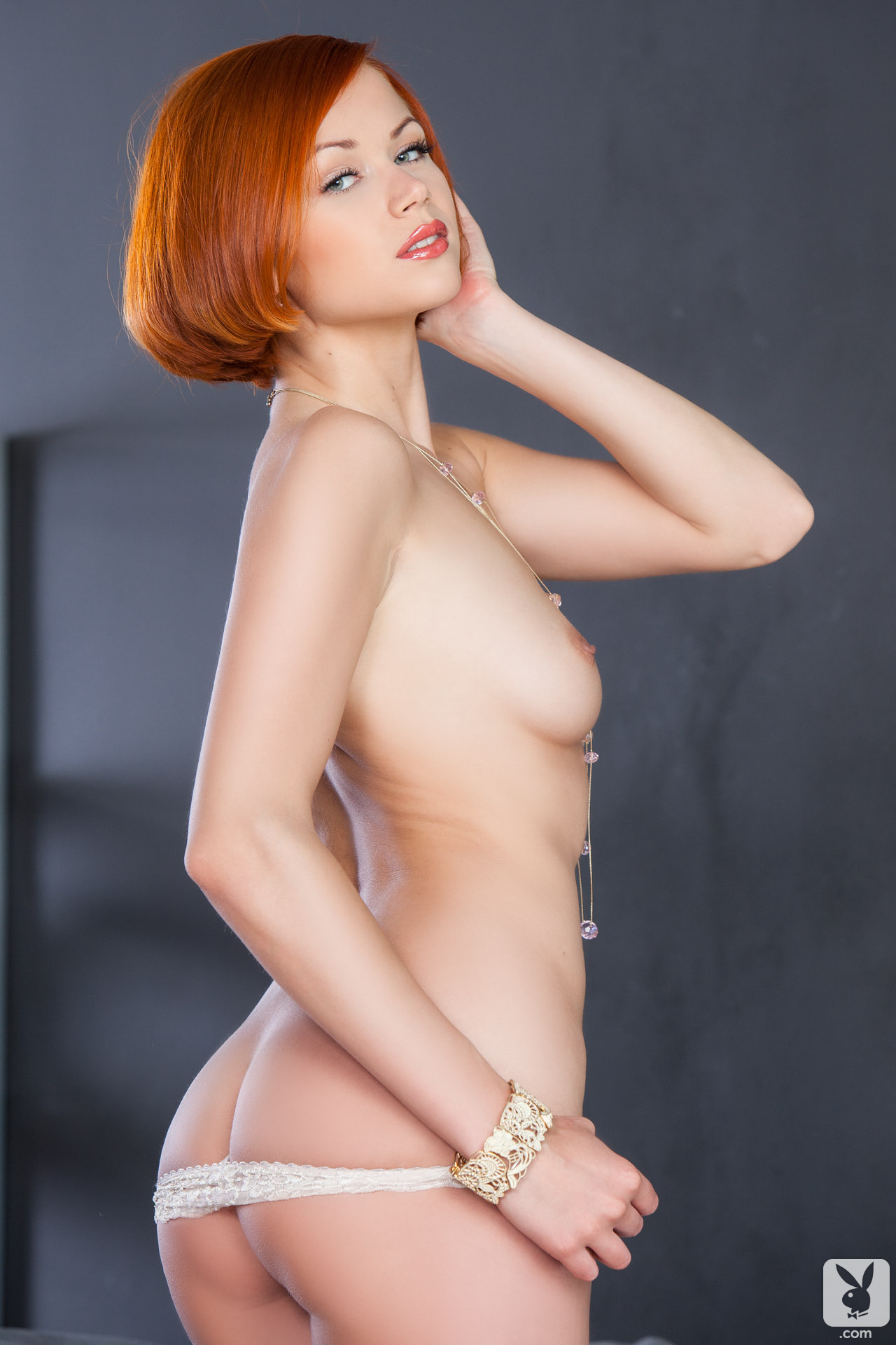 kamila-hermanova-redhead-naked-white-lingerie-playboy-18