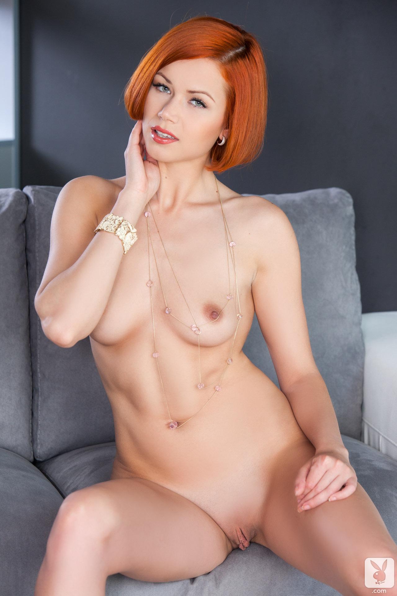 kamila-hermanova-redhead-naked-white-lingerie-playboy-22