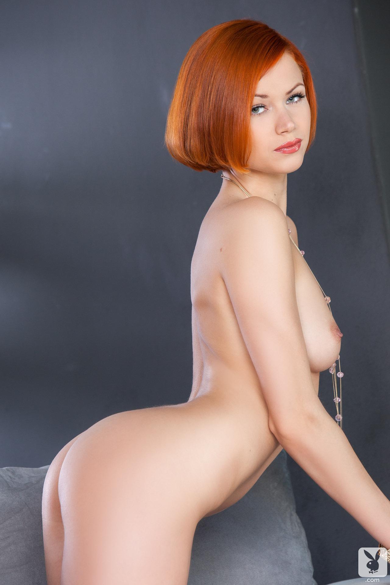 kamila-hermanova-redhead-naked-white-lingerie-playboy-28