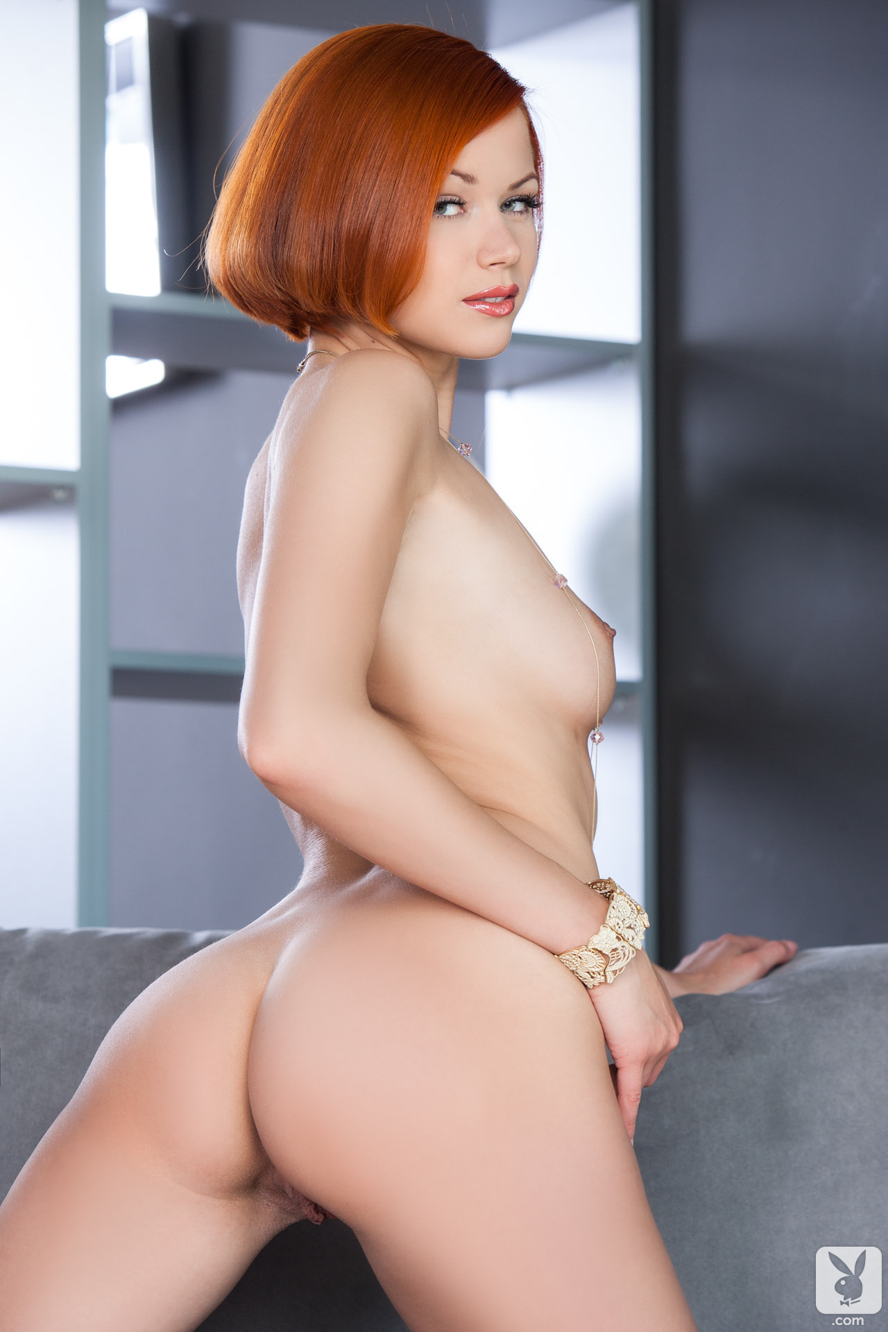 kamila-hermanova-redhead-naked-white-lingerie-playboy-29