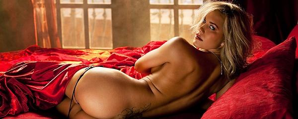 Kara Jo naked in bed
