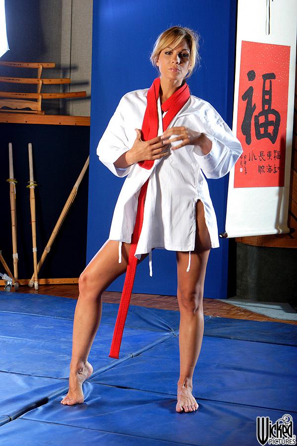 Sexy fucking karate girl