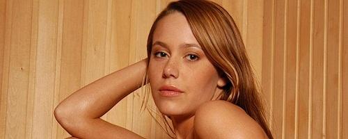 Karina nude in sauna