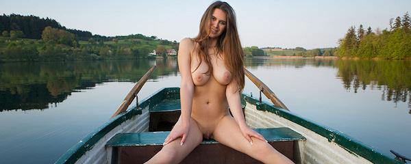 Karoline – Naked boat trip