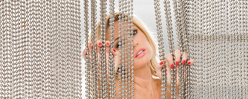 Kelly Carrington in red lingerie