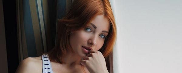 Kika – Cute redhead from Ukraine