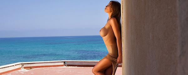 Kirstin Dillon at the seaside