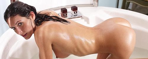 Kocsis Orsi in bath