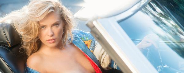 Kristy Garett & Chevrolet Chevelle