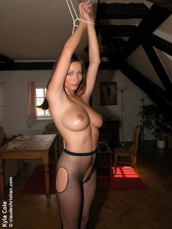 Have kyla cole tied naked