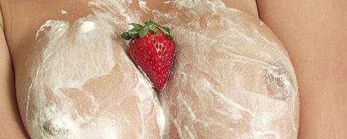 Kyla Cole – Whipped cream and strawberrys