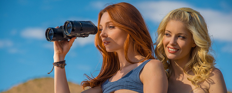 Lacy Lennon & Charlotte Stokely – Jeep expedition