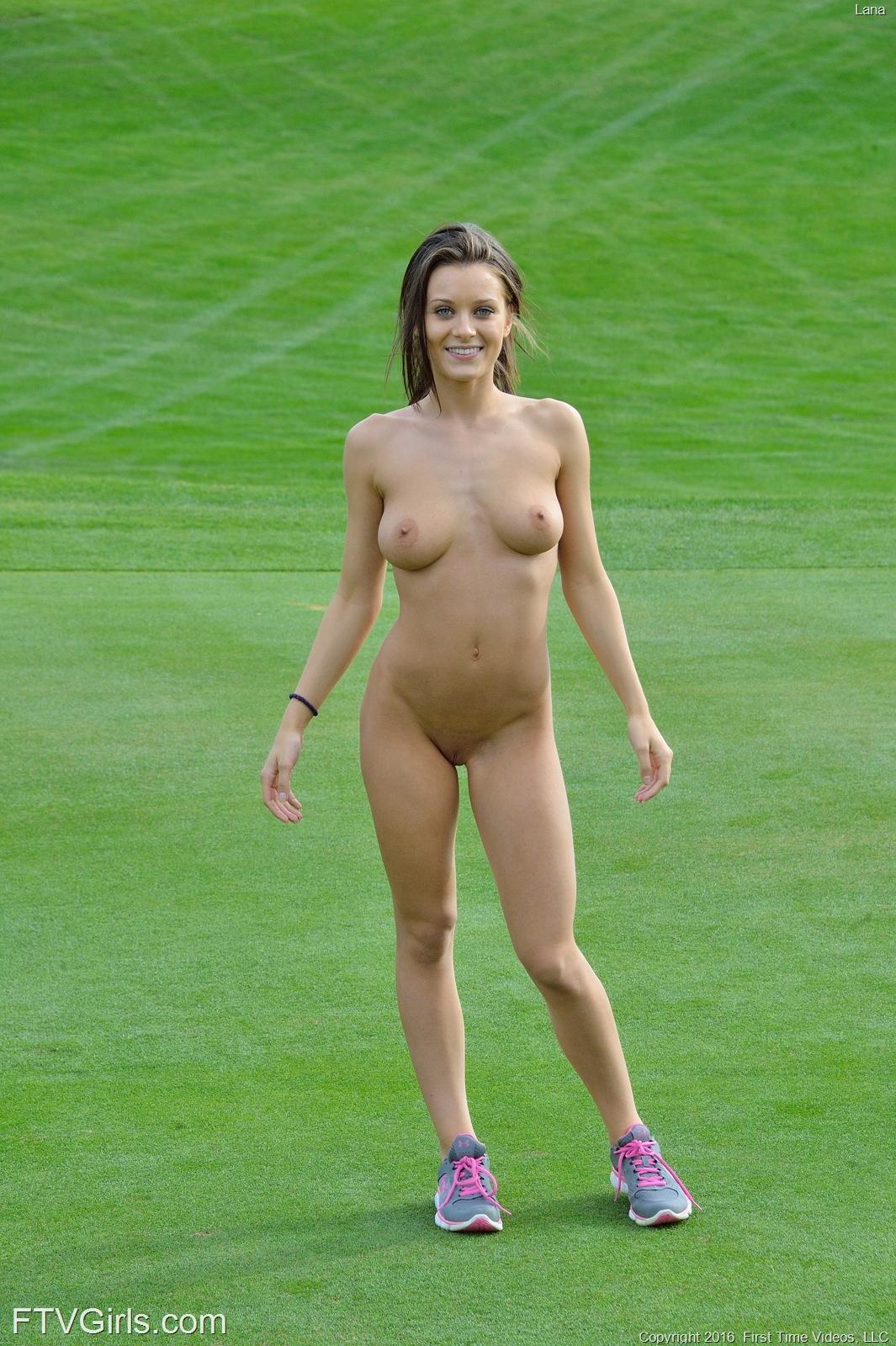 Lana golf course flash in public ftvgirls 26 RedBust