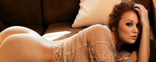 Leanna Decker in nighty
