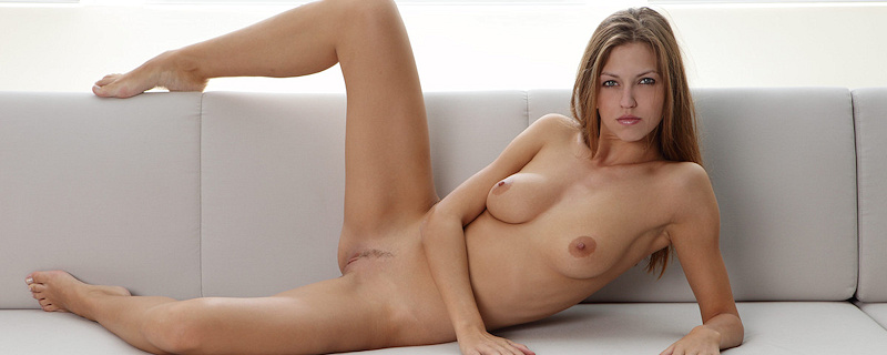 Lenka nude on the couch
