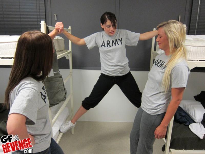 Lesbian Army Girls - Redbust-9768