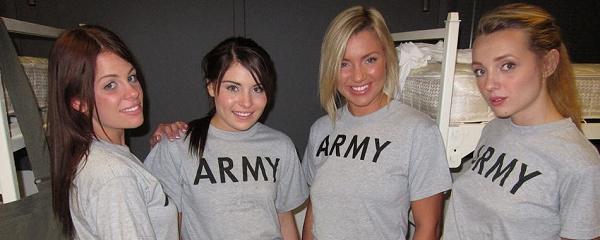 Lesbian army girls