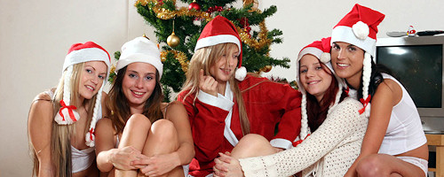 Lesbian Christmas Party vol.2