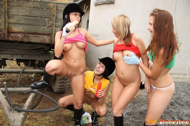 Lesbian Riding School - Redbust-7779