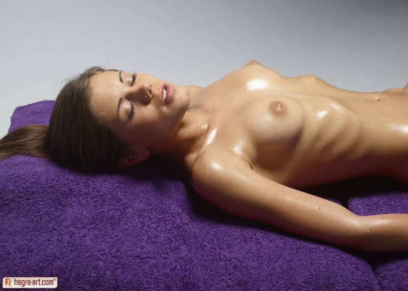 Little caprice massage