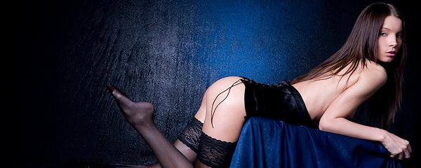 Liza E – Wet stockings