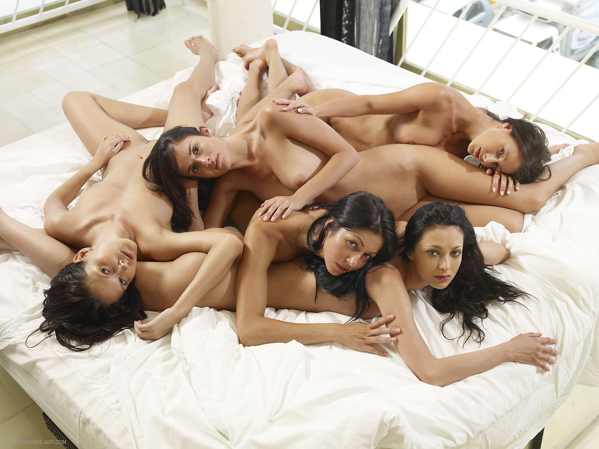 Naked girls in group mix vol3 83 RedBust