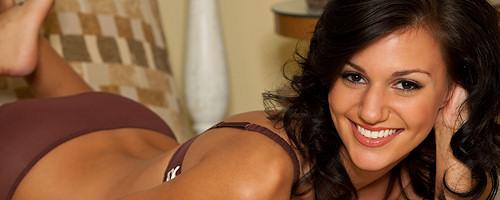 Lovely brunette Alana Cole