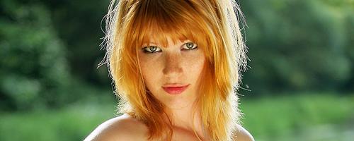 Lynette – Freckled redhead