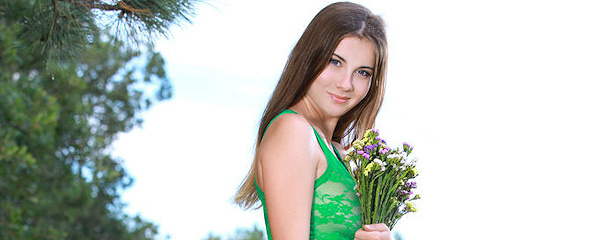 Marta on the meadow