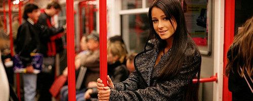 Melisa naked in metro