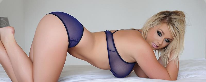 Melissa Debling in bedroom