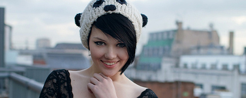 Mellisa Clarke on balcony